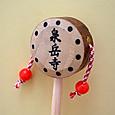 東京都港区 泉岳寺のでんでん太鼓